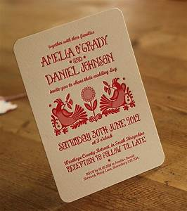 quirky letterpress wedding invitations by artcadia With quirky wedding invitations online