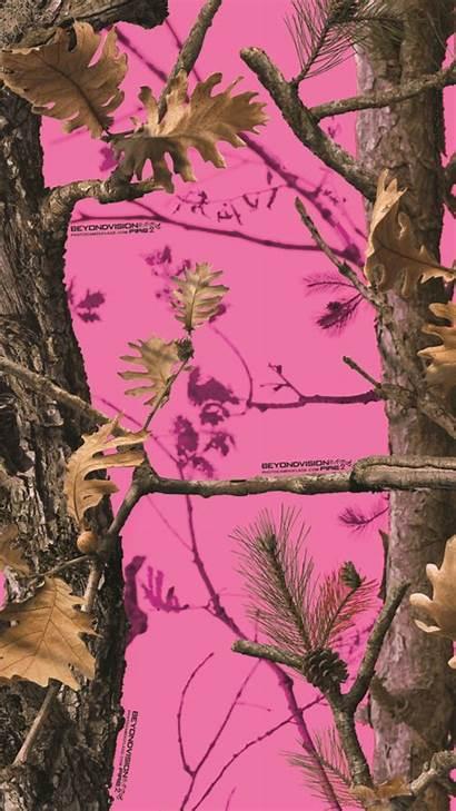 Camo Pink Mossy Oak Girly Realtree Border