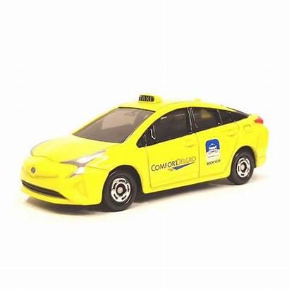 Taxi Singapore Prius Toyota Comfort Yellow Tomica