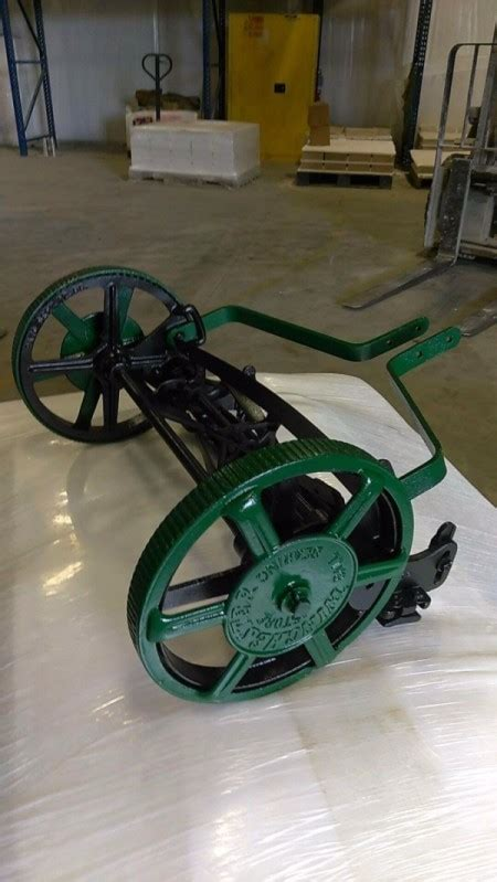 finding    vintage winchester reel push mowers