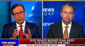 Chris Wallace Grills Mick Mulvaney On Tax Cuts: 'There Is ...