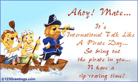 intl talk   pirate day cards  intl talk