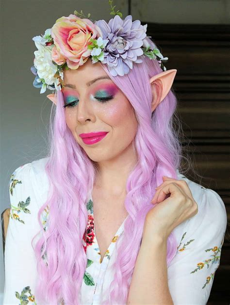 colorful fairy makeup halloween tutorial costume kindly unspoken