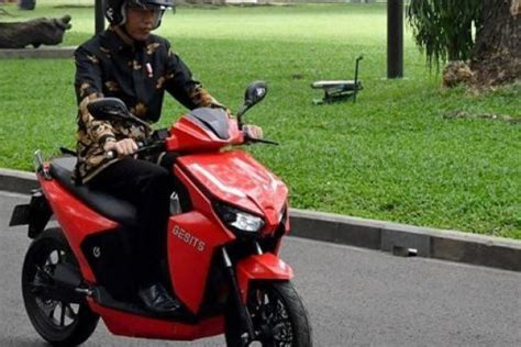 Gesits Image by Dijajal Presiden Jokowi Ini Spesifikasi Motor Gesits