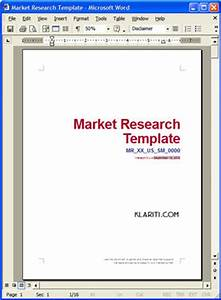 Market research plan templates 5 x ms word 14 x excel for Marketing research brief template