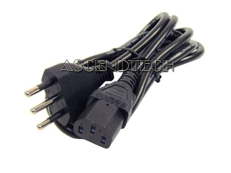 3-prong 2 Meter 220v 10a Type L Dell Italy Chile Computer