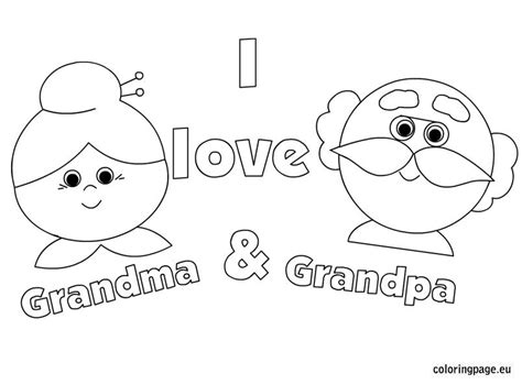 Related Coloring Pageshappy Grandparent's Dayhappy
