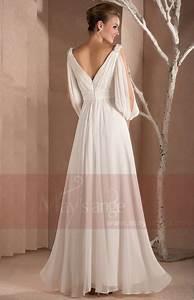 Robe Blanche Longue Boheme : robe longue blanche ~ Preciouscoupons.com Idées de Décoration