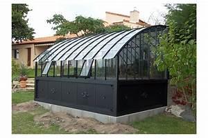 Serre Adossée Bois : serre adoss e versailles jardin couvert ~ Melissatoandfro.com Idées de Décoration