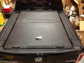 heavy duty truck bed cover on ram with rambox a black