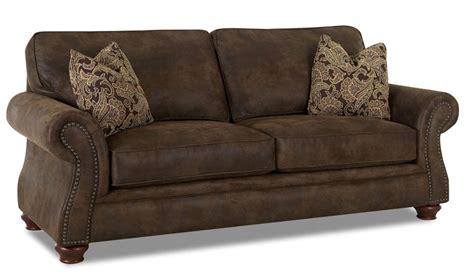 buy klaussner vaughn sofa confidently
