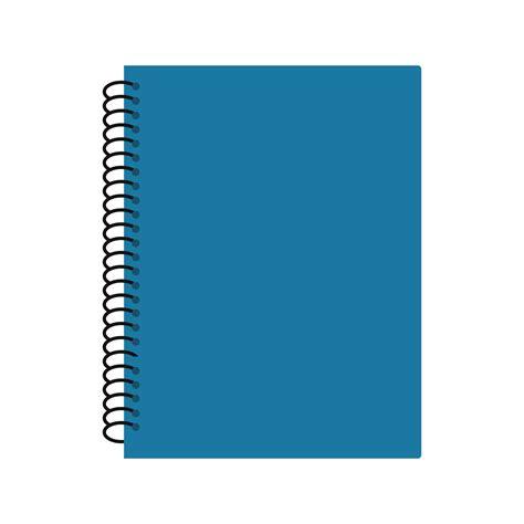 vector spiral notebook icon   vectors