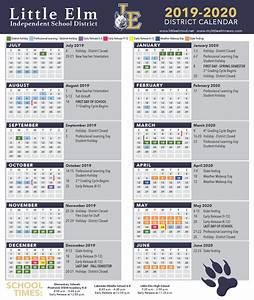 Sept 2020 Calendar Printable District Calendar Academic Calendar