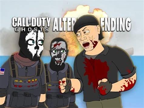 call  duty ghosts alternate  cartoon parody