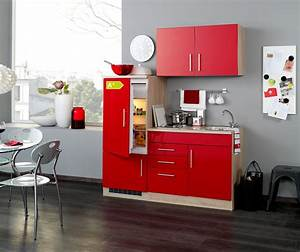 Kühlschrank 160 Cm : singlek che berlin mit k hlschrank breite 160 cm hochglanz rot eiche k che singlek chen ~ A.2002-acura-tl-radio.info Haus und Dekorationen
