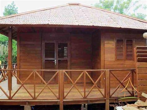 rumah kayu kelapa gambar desain rumah