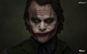 Heath Ledger The Joker Of The Dark Knight HD Wallpaper
