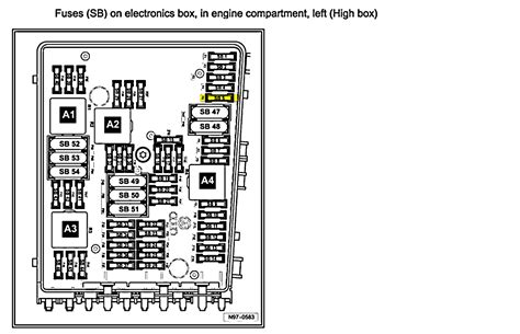 2006 Vw Passat Fuse Box Diagram by Where Is The Fuse For The Horn On A 2006 Vw Passat