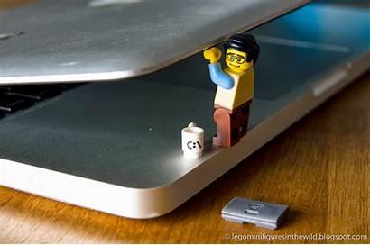 Lego Programmer Computer Minifigure Series Wallpapers Backgrounds