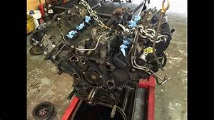 Ford 6 0 Liter Powerstroke Diesel Engine Removal Pictures
