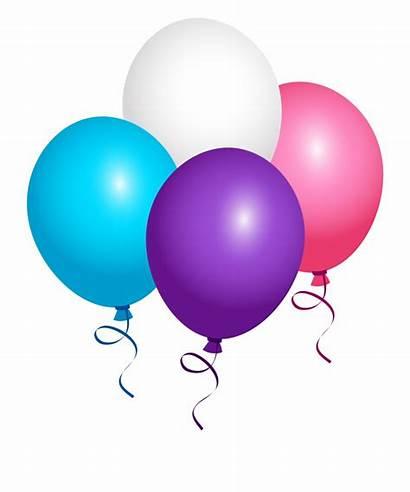 Clipart Background Balloon Birthday Transparent Happy 12th