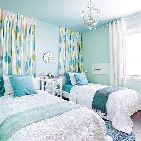 couleur deco chambre a coucher chambre turquoise et jaune