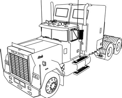 Ford Trucks Coloring Pages Printable Ford Best Free