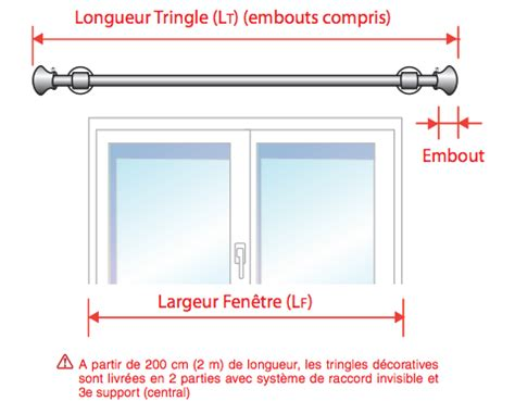 comment poser une tringle a rideau comment mesurer votre tringle d 233 corative