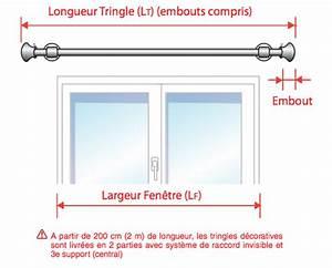 Poser Des Rideaux : comment mesurer votre tringle d corative ~ Nature-et-papiers.com Idées de Décoration