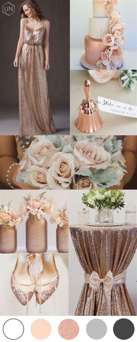 Rose gold wedding inspiration unbridely Wedding rose