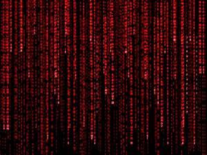 Download Red Matrix Wallpaper 1600x1200 | Wallpoper #414229