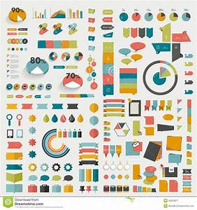 Big Collections Of Info Graphics Flat Design Diagrams