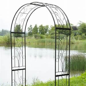 Arche De Jardin Leroy Merlin : arche en fer forg arche de jardin en fer forge arche de ~ Dallasstarsshop.com Idées de Décoration