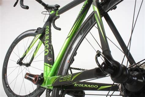 rba test colnago  italia road bike action