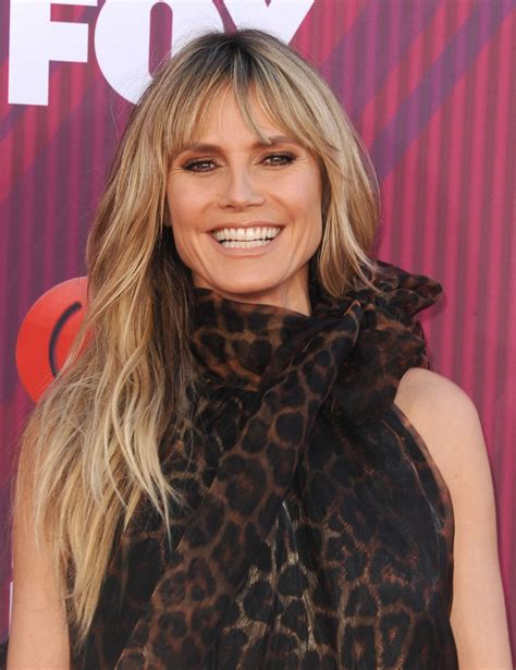 Heidi Klum Iheartradio Music Awards