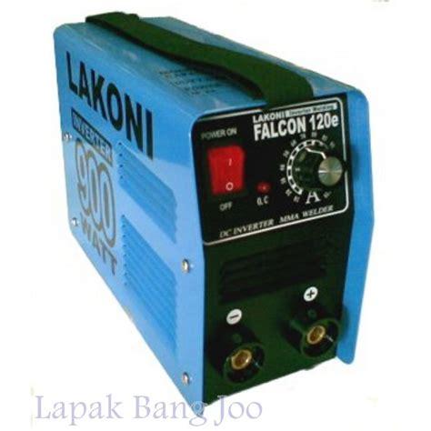 jual mesin las listrik lakoni falcon 120e inverter 900watt welding machine mesin welding di