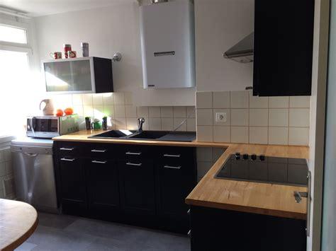 canapé angle conforama cuisine noir laqué plan de travail bois cuisine idées