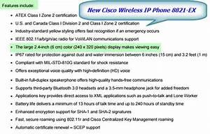 Introducing the New Cisco Wireless IP Phone 8821-EX ...