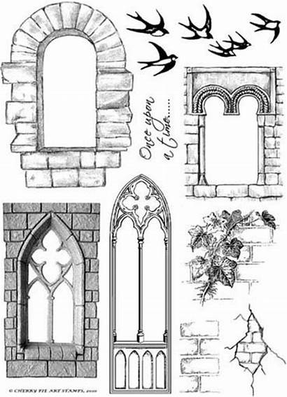 Door Clipart Windows Printables Craft Castle Clip
