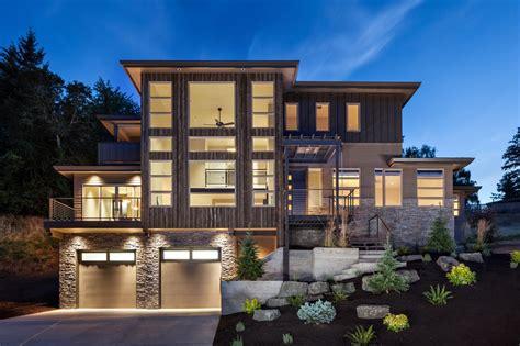 luxurious multi level house
