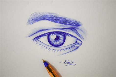 eye drawing ball point  creativentechno