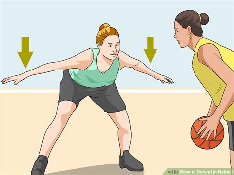 defend  netball  steps  pictures wikihow