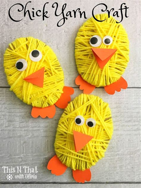 346 best images about easter crafts on sock 466 | 197ec32ce8f3b55365a4311757882da3 yarn easter crafts preschool yarn crafts