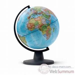 Mini Globe Terrestre : globe non lumineux mini 16 politique mini cartographie politique 16 cm ~ Teatrodelosmanantiales.com Idées de Décoration