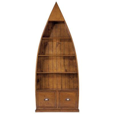 Canoe Boat Bookshelf by Best 25 Boat Shelf Ideas On Boat Bookcase