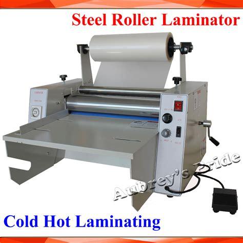 lamination price list new generation 110 220v 15inch 380mm steel roller hot cold laminating machine roll laminator in