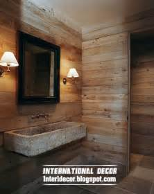 bathroom wall stencil ideas best 15 wooden bathroom decorating ideas and designs photos