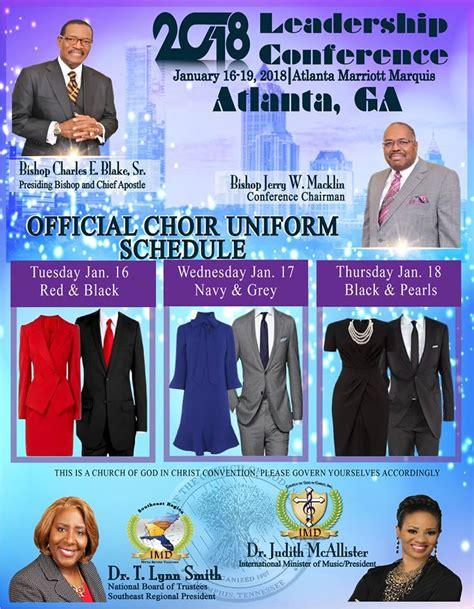 church  god  christ  international  department