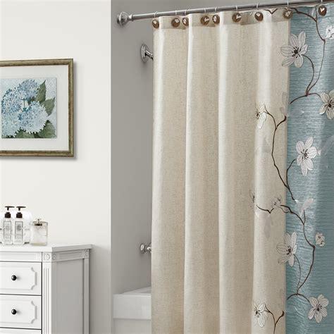 magnolia shower curtain magnolia shower curtain seafoam 70x72 by croscill