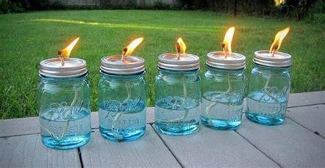 candele a olio 10 candele a olio fai da te